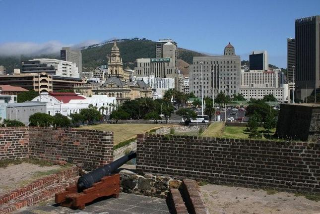 Cape Town from Castle